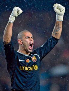 Victor Valdes, è alla sua ultima stagione con il Barcellona