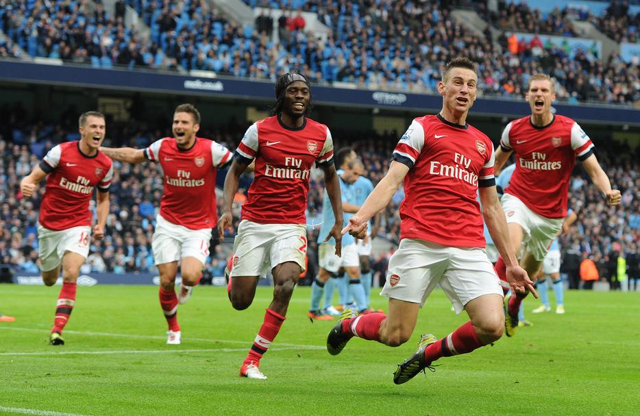 La squadra dell'Arsenal