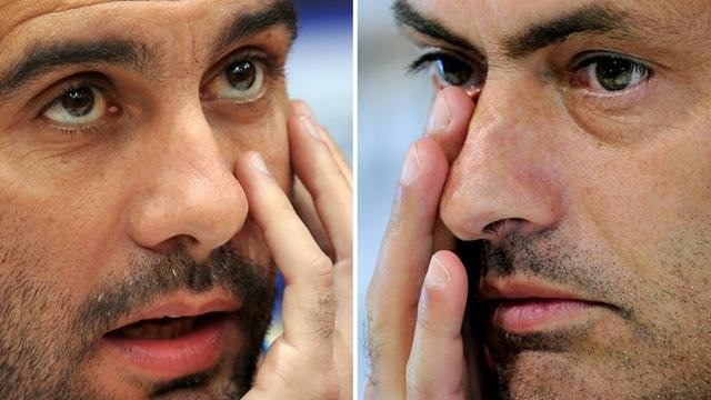 Guardiola e Mourinho, tecnici di Bayern e Chelsea