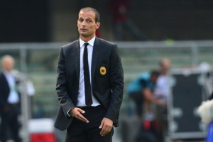 Allegri ha scelto Alessandro Matri per l'attacco rossonero