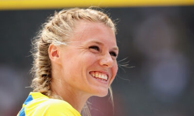 La saltatrice svedese Emma Green-Tregaro