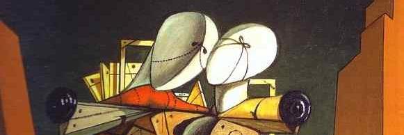 Ettore e Andromaca, di Giorgio de Chirico