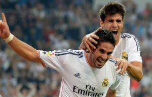 Isco autore del goal vittoria del Real Madrid contro il Betis