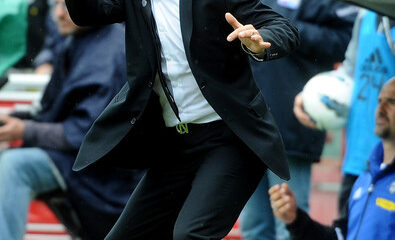 Mario Beretta sulla panchina del Cesena