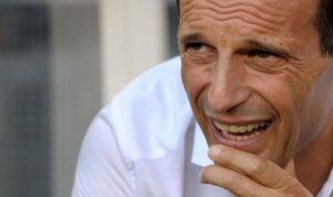 Juventus-Milan Massimiliano Allegri, allenatore dei rossoneri