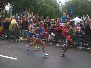 Valeria Straneo in gara