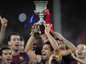 Il Barcellona alza al cielo la sua undicesima Supercoppa di Spagna