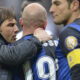 Conte e Cambiasso durante Juventus - Inter
