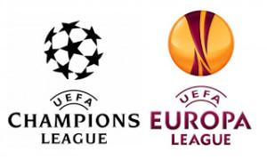 Champions League ed Europa League: i due loghi