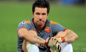 L'ex portiere della Roma Doni lascia il calcio giocato