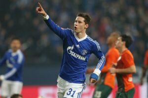 Draxler con la maglia dello Schalke 04