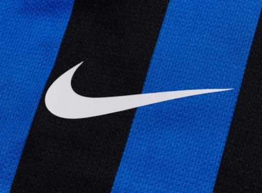 Il logo Nike sull'Inter