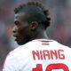 Mbaye Niang con la maglia del Milan