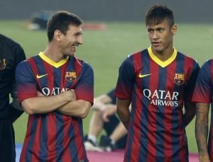 La coppia da sogno Messi - Neymar: la giusta alchimia è ancora lontana.