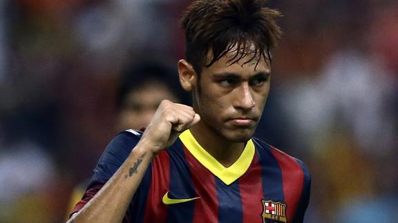 Neymar, uno dei migliori talenti del pianeta