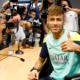 Neymar in conferenza stampa