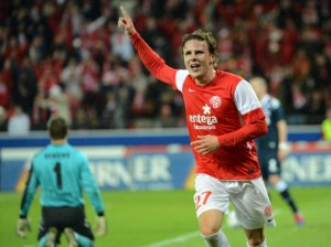 Nicolai Muller attaccante del Mainz top scorer della Bundesliga