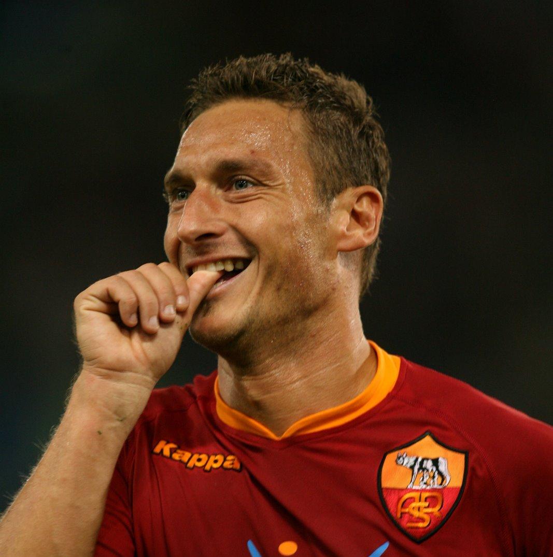 Francesco Totti,capitano Roma