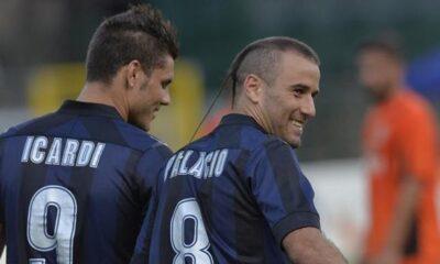 Icardi e Palacio Live Serie A