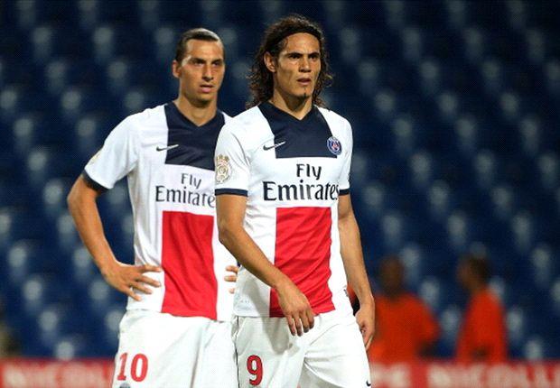 .Ibrahmovic e Cavani, PSG, Sportcafe24