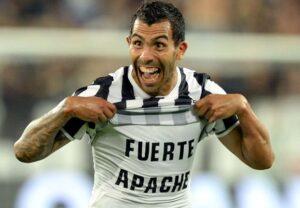 Carlitos Tevez, 15 gol in campionato, zero, in Europa quest'anno