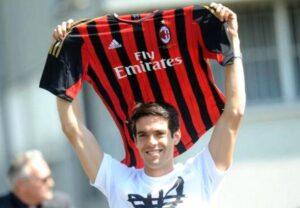 Ricardo Kakà al ritorno col Milan