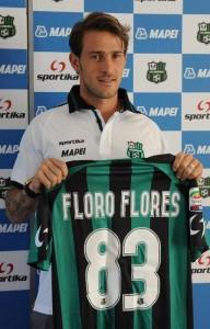 Antonio Floro Flores, autore del 2-0 del Sassuolo