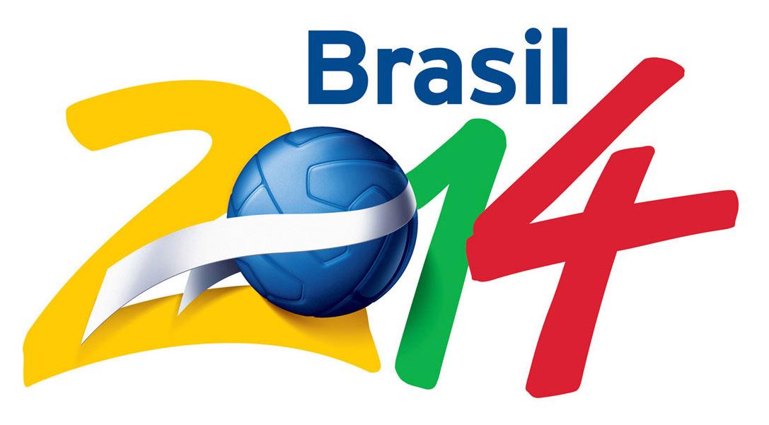 Il logo di Brasile 2014