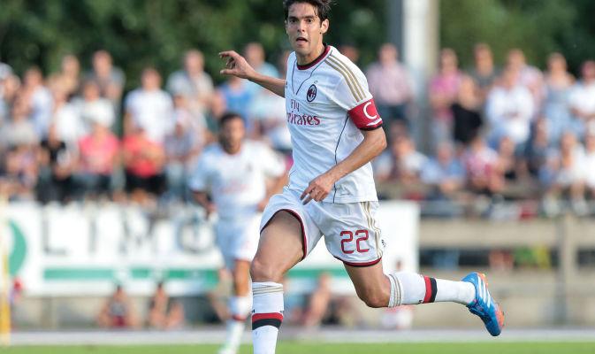 Ricardo Kakà con la maglia del Milan