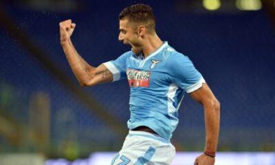 Il gol di Candreva allo scadere ha regalato i tre punti alla Lazio