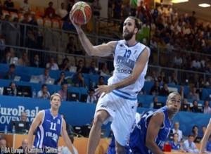 EuroBasket 2013 - Il volo di Gigi Datome