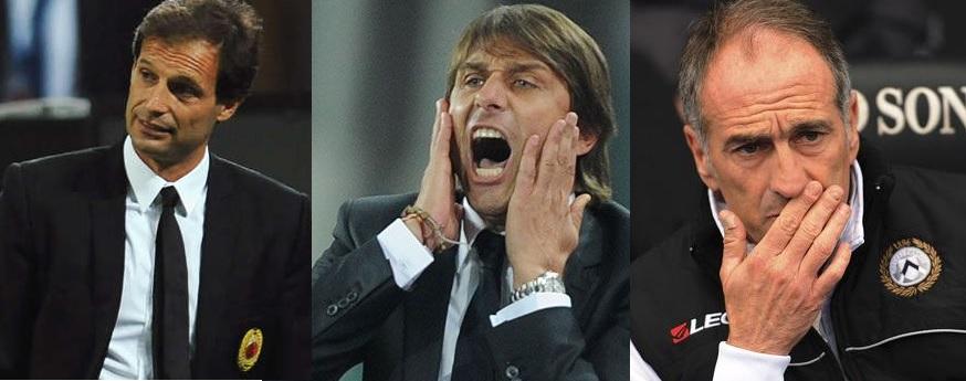 Antonio Conte, allenatore della Juve