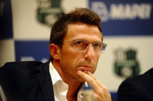 Eusebio di Francesco, allenatore del Sassuolo