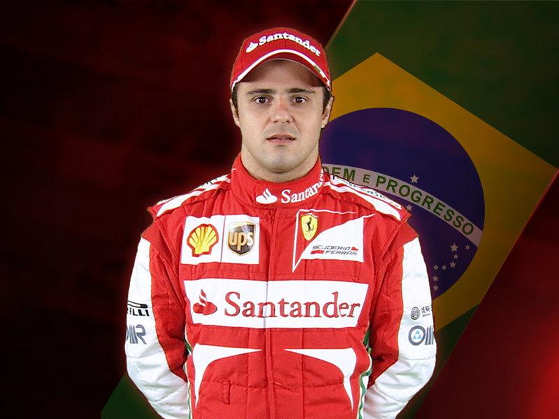 Felipe Massa, pilota della Ferrari