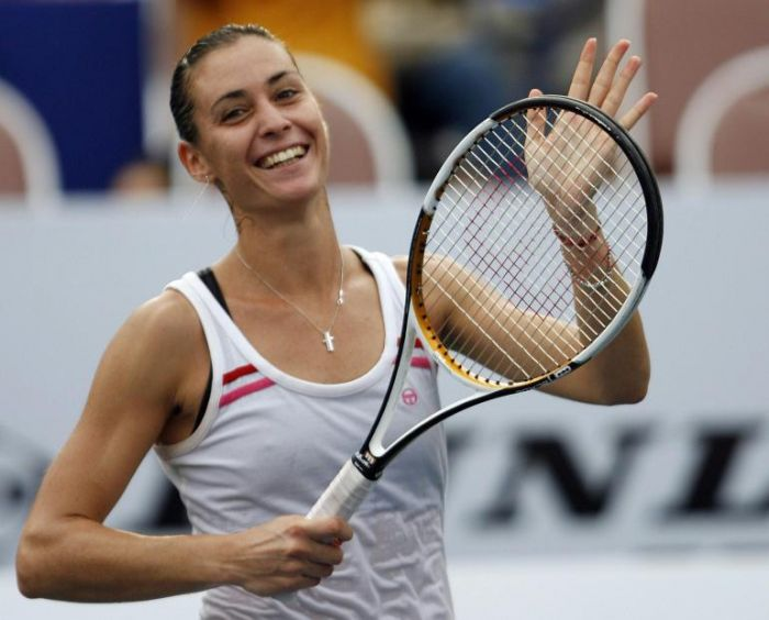 Flavia Pennetta raggiunge i quarti degli Australian Open