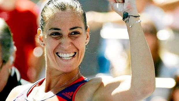 Flavia Pennetta,batte Maria Sharapova