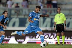 Francesco Tavano contro l'Empoli