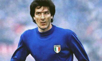 Gaetano Scirea con la maglia della Nazionale