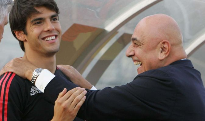 Kakà e Galliani