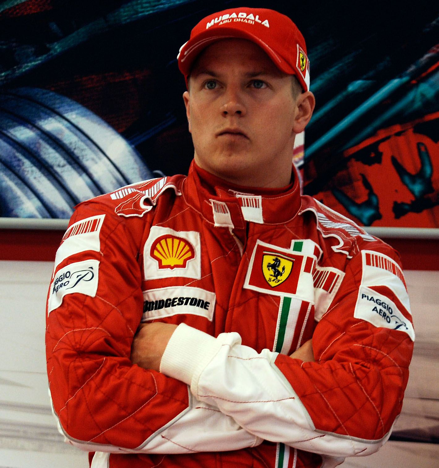 Kimi Raikkonen, pilota Ferrari nel 2014