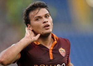 Adem Ljajic con la maglia della Roma