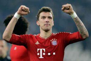Mandzukic, attaccante del Bayern Monaco, decisivo con una doppietta