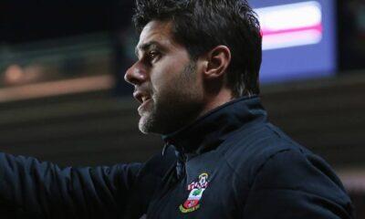 Mauricio Pochettino, tecnico del Southampton riuscito a bloccare il Liverpool ad Anfield Road