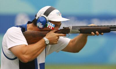 Giovanni Pellielo, oro nel tiro a volo ai Mondiali di Lima
