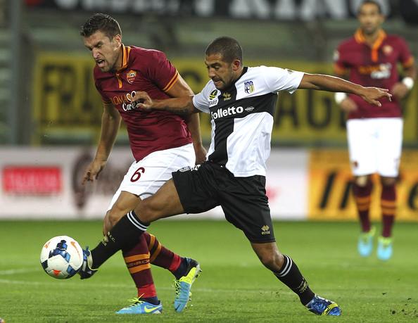 Parma - Roma: un'azione