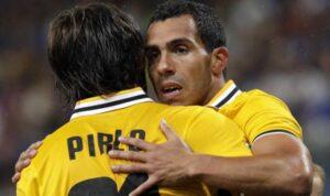 Juventus-Galatasaray | Carlos Tevez con la maglia della Juventus