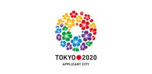 Il logo della candidatura di Tokyo per le Olimpiadi 2020