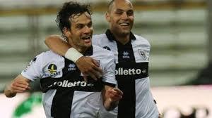Marco Parolo in gol contro il Milan