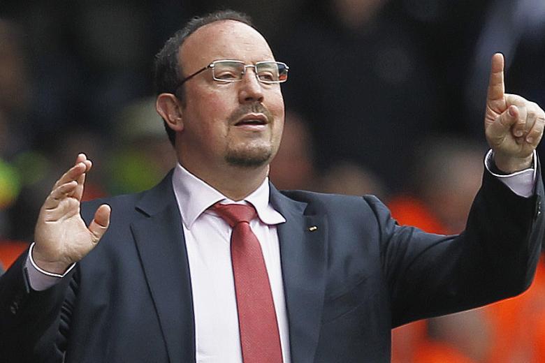 Rafa Benitez è sotto accusa dopo la sconfitta con il Parma