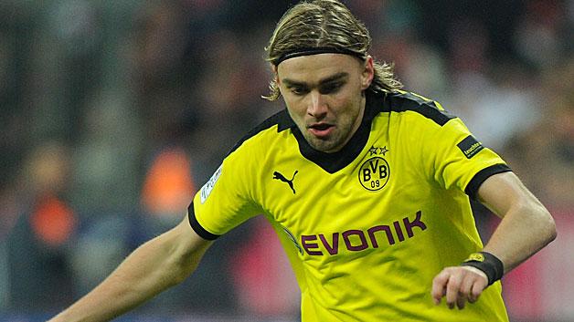Schmelzer con la maglia del BVB